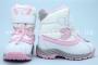Термо-ботинки B&G R161-3197 для девочки белые (A)