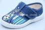 Тапочки Waldi 0036 для мальчика синие (A)