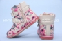 Ботинки Little Deer (B&G) LD1816-25 для девочки с ярким принтом, маломерят