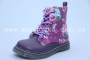 Ботинки Little Deer (B&G) LDV16-255 для девочки фиолетовые