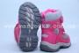 Термоботинки B&G TERMO R171-6028 для девочки розовые