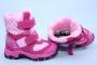 Термоботинки B&G TERMO R171-6040 для девочки розовые