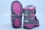 Термоботинки B&G TERMO R171-6029 для девочки серые