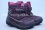 Термоботинки B&G TERMO R171-6024 для девочки фиолетовые