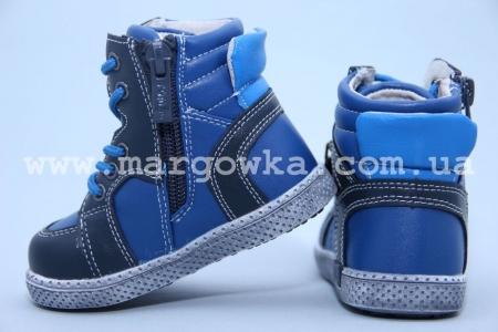 Ботинки Tom.M C-T02-65-F для мальчика синие (A)