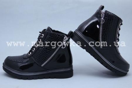 Ботинки BIKI 2158A для девочки чёрные (A)