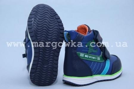 Ботинки BIKI C-B02-74-A для мальчика синие (G)