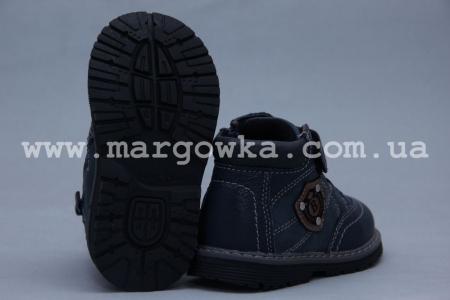 Ботинки BIKI 3958B для мальчика синие (A)