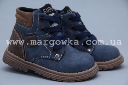 Ботинки Little Deer LD180-401 для мальчика синие (A)