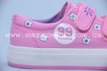 Кеды Bessky 6368-4 для девочки розовые (A)
