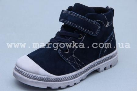 Ботинки BIKI 3959C для мальчика синие (A)