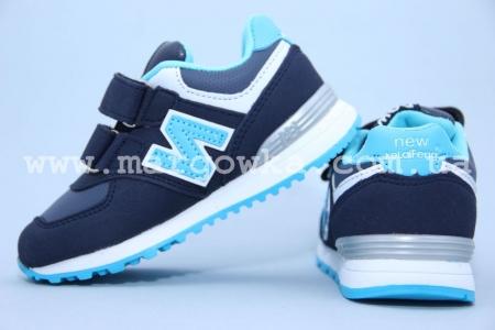 Кроссовки KLF 13170-1 для мальчика синие (G)