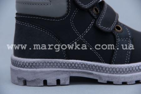 Ботинки BIKI 3978A для мальчика чёрные (A)