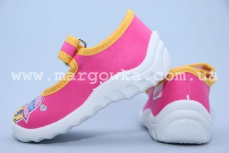 Тапочки Waldi 195-635 для девочки розовые (A)