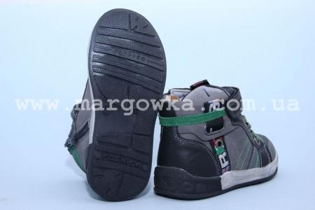 Ботинки Солнце PL6801B для мальчика серые (A)