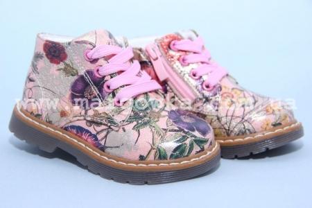 Ботинки С.Луч AG7820-2 для девочки МАЛОМЕРЯТ! (G)