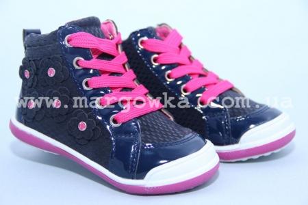 Ботинки Солнце LS201A для девочки синие (G)