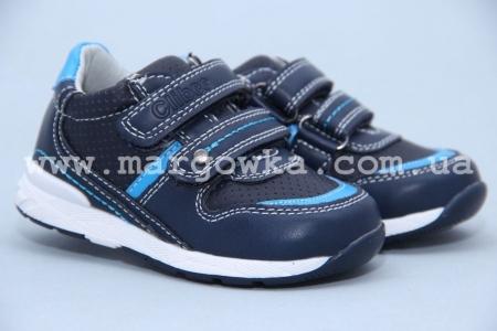Кроссовки Clibee P195 для мальчика синие (A)