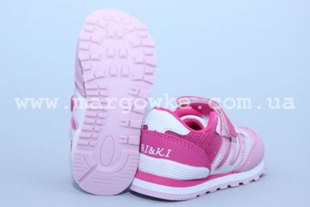 Кроссовки BIKI C-B79-43-B для девочки розовые