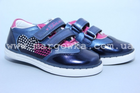 Туфли Tom.M C-T10-82-B для девочки синие (A)