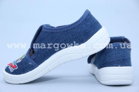 Тапочки Waldi 60-667 для мальчика синие (A)