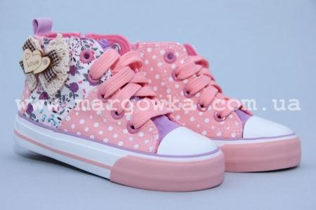 Кеды G-Frog 509-2 для девочки розовые (A)