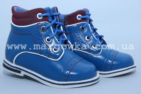 Ботинки Little Deer LD1816-26 для мальчика синие (A)