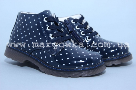 Ботинки С.Луч G8839-2 для девочки синие (A)