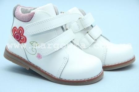 Ботинки Tom.M C-T62-78-E для девочки белые