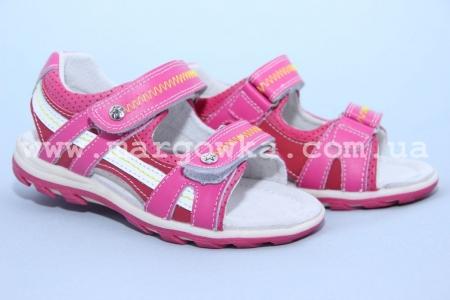 Босоножки Calorie YQ2038-5T для девочки розовые (A)