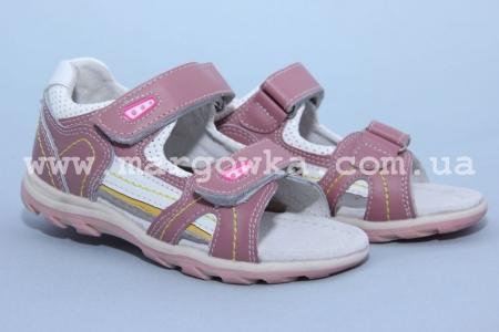 Босоножки Calorie YQ2038-1F для девочки розовые (A)