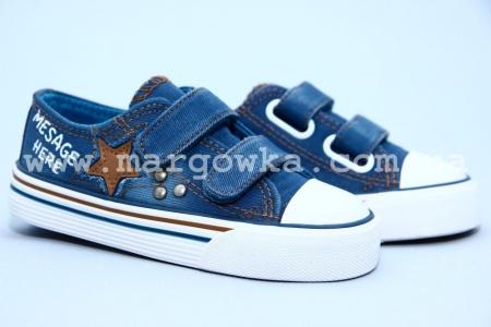 Кеды Tom.M C-T13-48-H для мальчика синие (A)