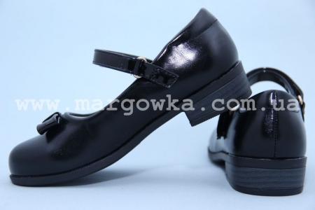 Туфли Tom.M C-T14-51-B для девочки чёрные (A)