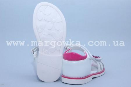 Босоножки Tom.M C-T10-03-D для девочки белые (A)