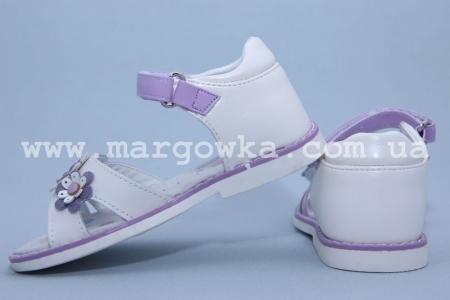 Босоножки Tom.M C-T06-04-K для девочки бело-фиолетовые (A)