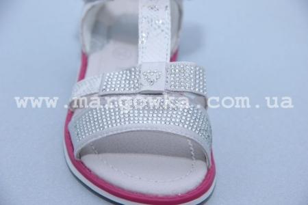 Босоножки Tom.M C-T79-90-B для девочки серебристые (A)