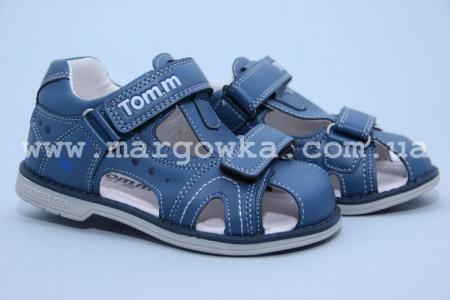 Босоножки Tom.M C-T01-66-B для мальчика синие (A)