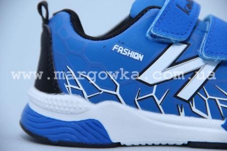 Кроссовки KLF 262-5A для мальчика синие (G)