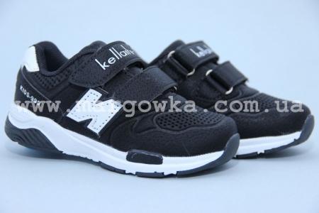 Кроссовки KLF 263-1A для мальчика чёрные (G)