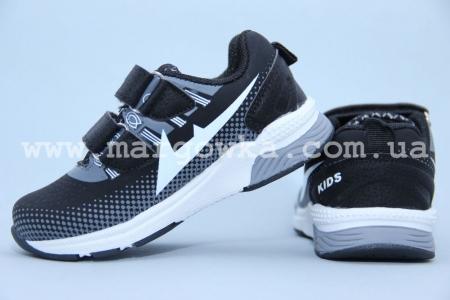 Кроссовки KLF 261-1A для мальчика чёрные (G)