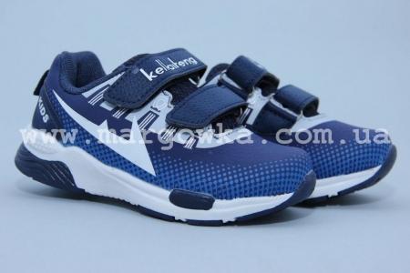 Кроссовки KLF 261-2A для мальчика синие (G)