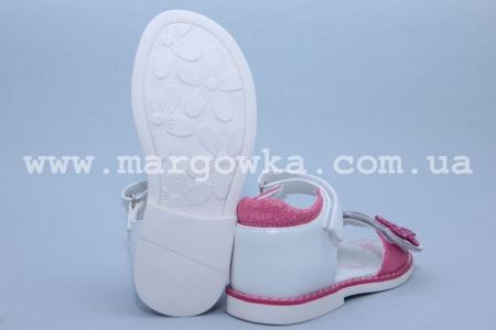 Босоножки Tom.M C-T10-01-D для девочки бело-малиновые (G)