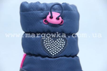 Дутики Tom.M 3989C для девочки синие (A)
