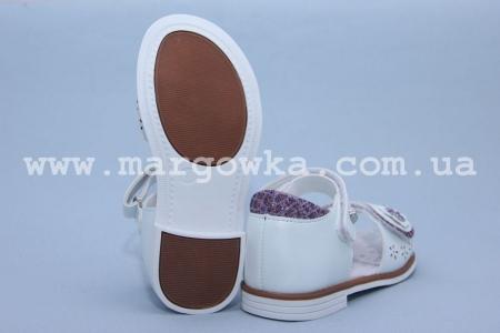 Босоножки Tom.M C-T01-76-A для девочки белые (G)