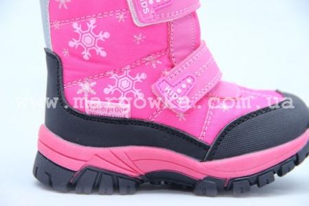 Ботинки Tom.M 3600F для девочки розовые (A)