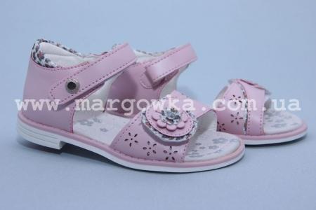 Босоножки Tom.M C-T01-76-C для девочки розовые (G)