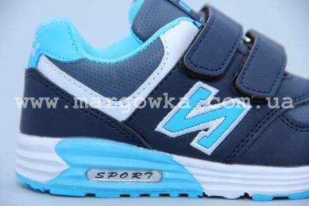 Кроссовки KLF 6481-2A для мальчика синие (G)