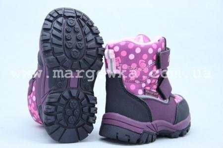 Ботинки Tom.M 3601E для девочки фиолетовые (A)