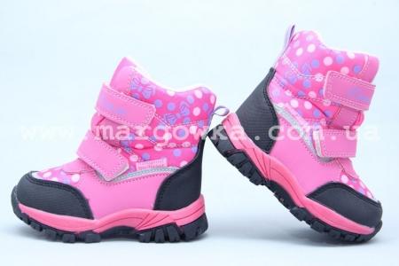 Ботинки Tom.M 3601F для девочки розовые (A)