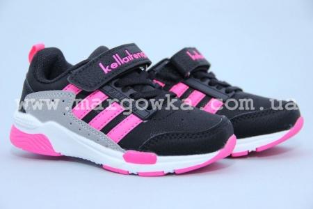 Кроссовки KLF 266-2A для девочки чёрные (G)